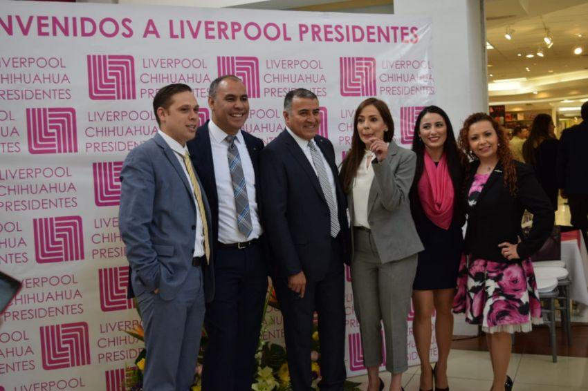 b99692fbf2 Inauguran Liverpool Chihuahua Presidentes en Plaza Galerías. Previous