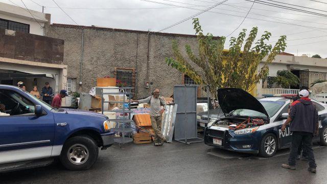 Desalojan a dos familias de casa en la colonia Santa Rosa - voz en red